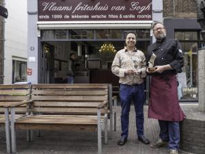 Hassan Elammouri en Arn Zuyderduyn ArteGanza Talenscout